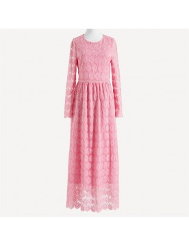 Sunflower Lace Maxi Dress