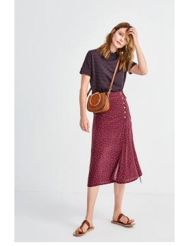 Gloria skirt with dot print